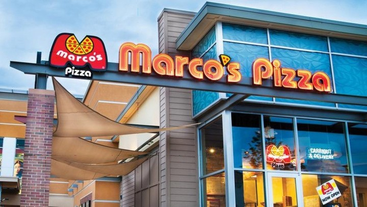 Marco's Pizza restaurant from outside, where Marco's Pizza fundraisers take place