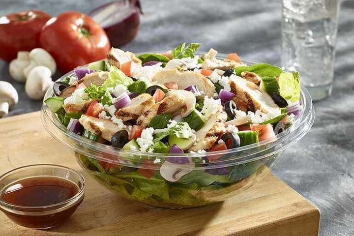 The Pita Pit salad is a must-try.