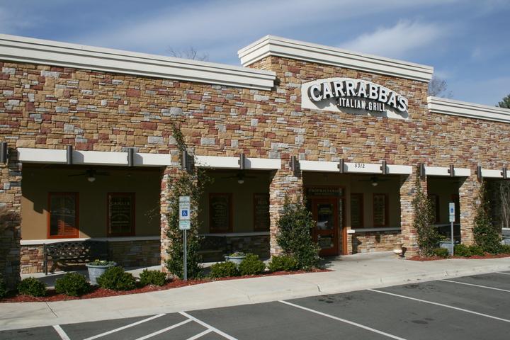 Exterior of a Carrabba's restaurant, where Carrabba's fundraisers happen