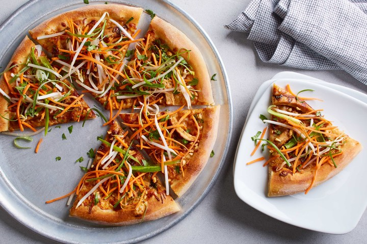 The California Pizza Kitchen thai chicken pizza is a fan-favorite.