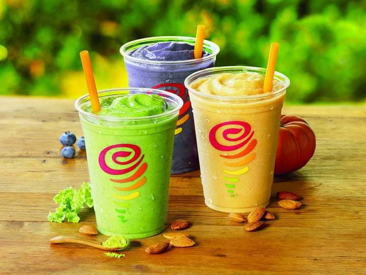 The Jamba Juice smoothies are a must-try.