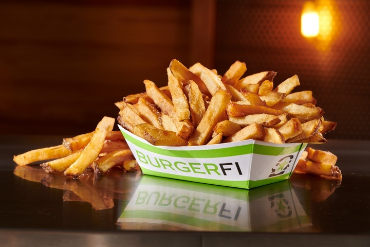 Crispy and crunchy french fries, available at BurgerFi fundraisers
