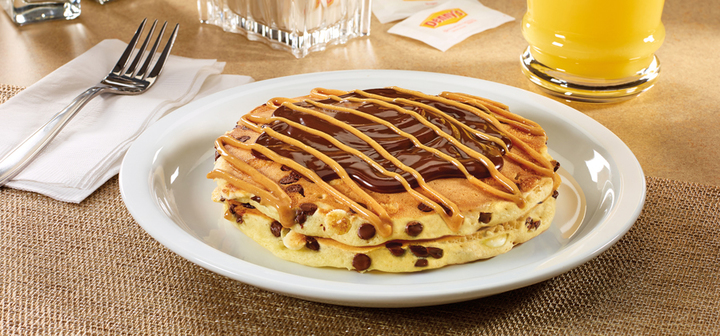 The Denny's pancake is a must-try.
