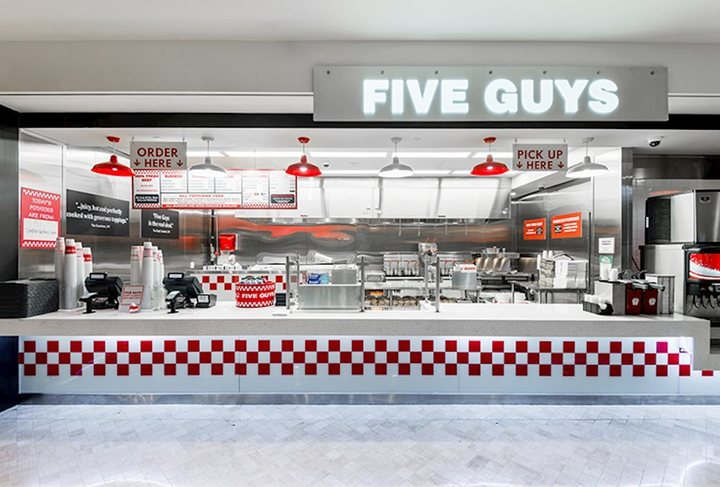 With over 1,500 restaurants across the country, you're sure to find Five Guys locations near you.