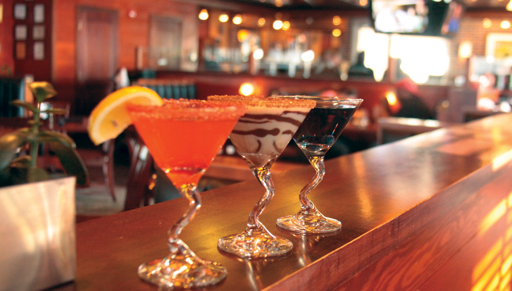 Houlihan's happy hour is a must-try.