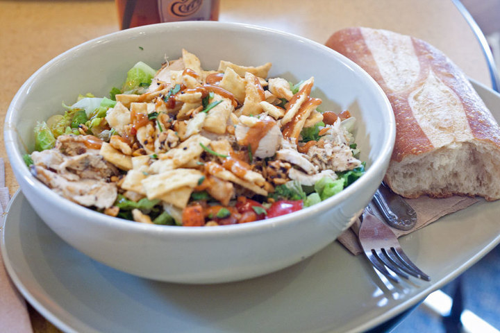 The Panera Bread salad is a must-try.