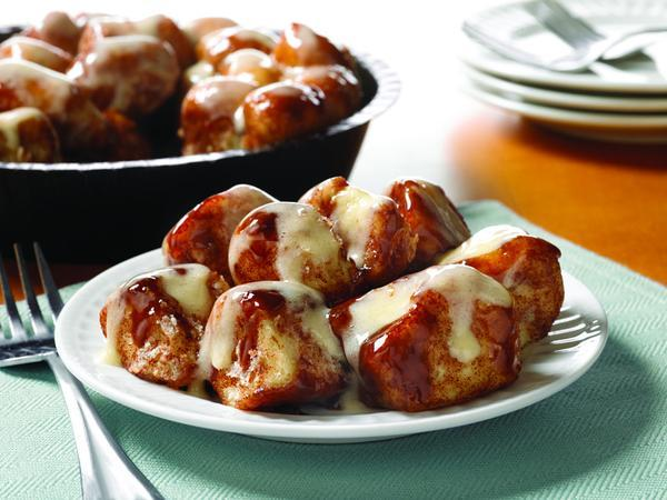 The Cinnabon gooey bites are a must-try.