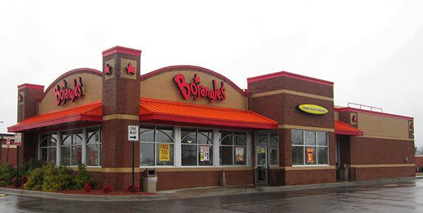 Bojangles Famous Chicken n' Biscuits location during the day, where Bojangles Famous Chicken n' Biscuits fundraisers are sure to happen