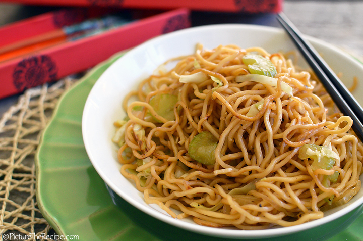 The Panda Express chow mein is a must-try.