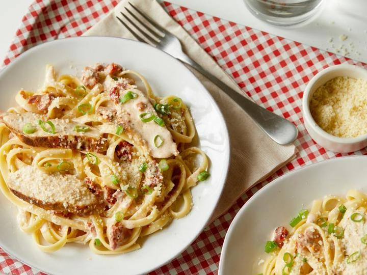The Chili's cajun chicken pasta is a must-try.