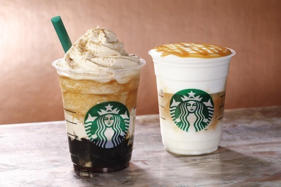 The Starbucks coffee is just one of their many awesome offerings.