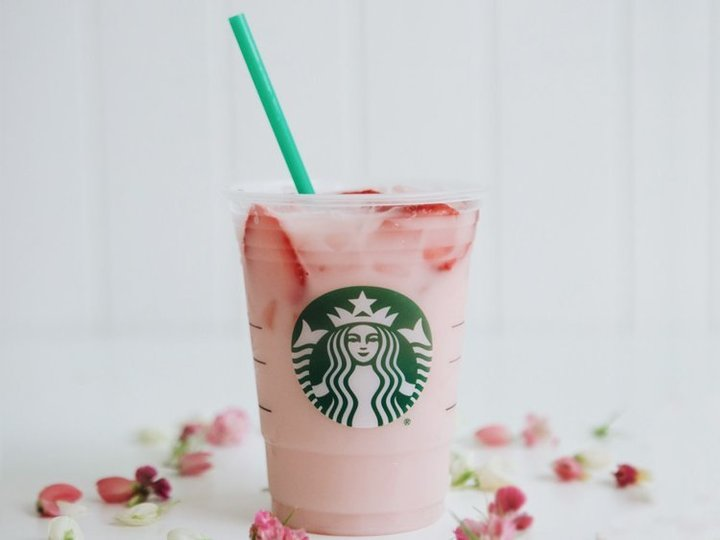 A must-try pink drink, served at Starbucks fundraisers