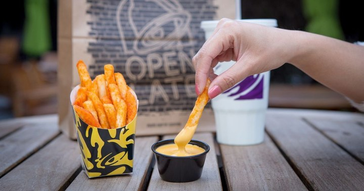 The Taco Bell nacho fries are just one of their many awesome offerings.