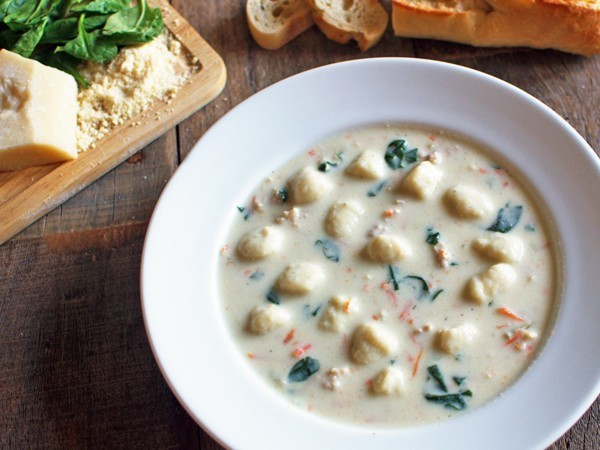 The Olive Garden soups are a must-try.