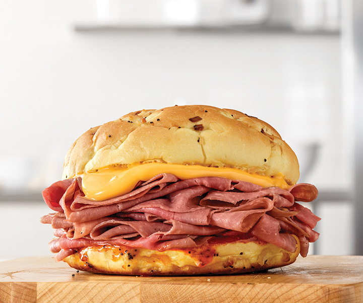 The Arbys roast beef is a must-try.
