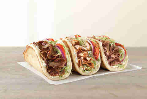 The Arbys gyro is just one of their many awesome offerings.