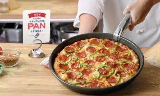 The Domino's pan pizza is a must-try.
