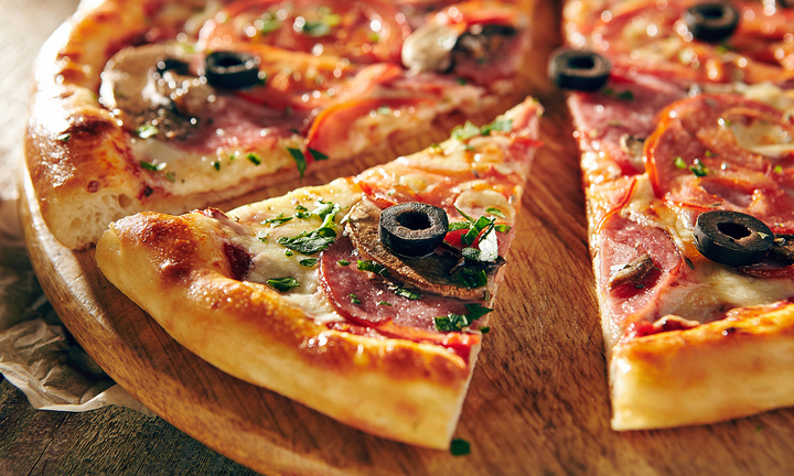 Round Table Pizza cheese pizza is a must-try.